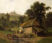 Albert Bierstadt In The Foothills