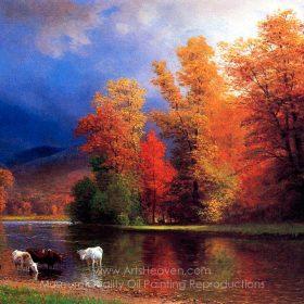 Albert Bierstadt On the Saco