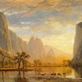 Albert Bierstadt Valley of the Yosemite