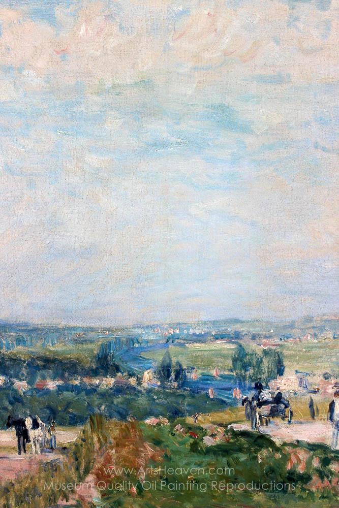 Sisley Alfred El Camino De Montbuisson In Louveciennes Painting Reproductions Save 50 75 Free Shipping Artsheaven Com
