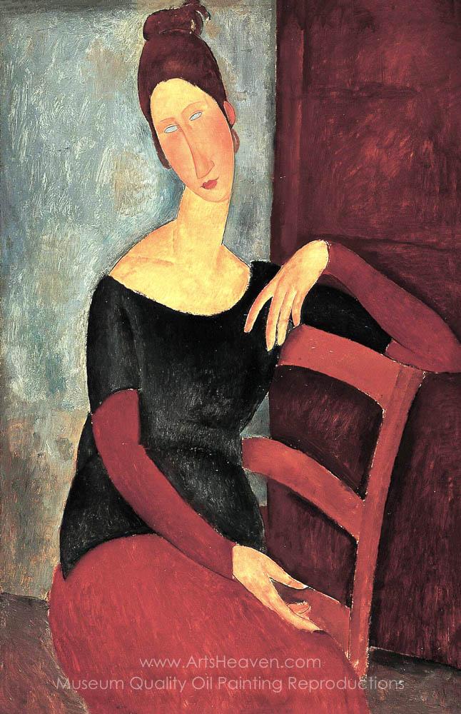Amedeo Modigliani Portrait of Jeanne Hebuterne