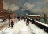 Carlo Brancaccio A Blustery Winter Day