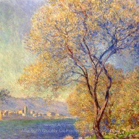 Claude Monet Antibes Seen from the Salis Gardens