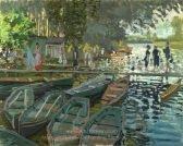Claude Monet Bathing at La Grenouillere