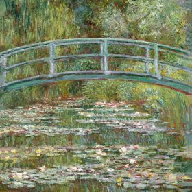 Claude Monet Bridge Over a Pond of Water Lilies