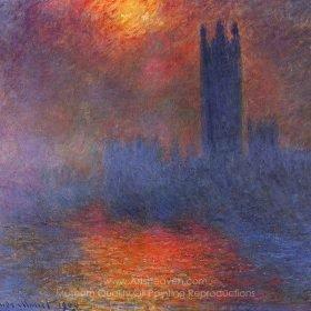 Claude Monet Houses of Parliament, London