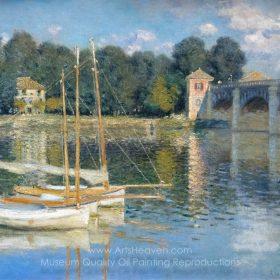 Claude Monet The Bridge at Argenteuil
