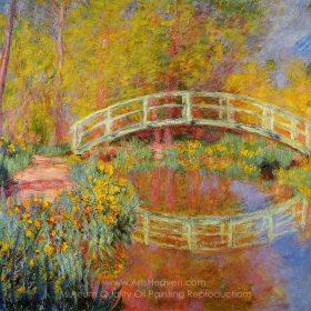 Claude Monet The Japanese Bridge at Giverny