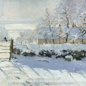 Claude Monet The Magpie