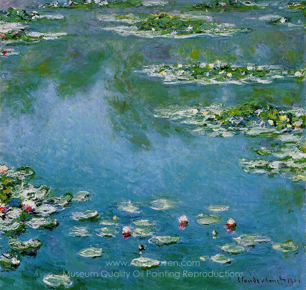 Claude Monet Water Lilies 1906