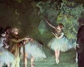 Edgar Degas Ballet Rehearsal