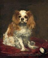Edouard Manet A King Charles Spaniel