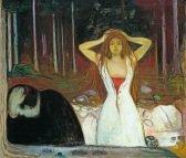 Edvard Munch Ashes