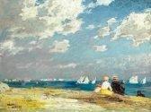 Edward Potthast Along the Shore