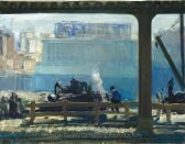 George Wesley Bellows Blue Morning