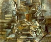 Georges Braque Bottle and Fishes