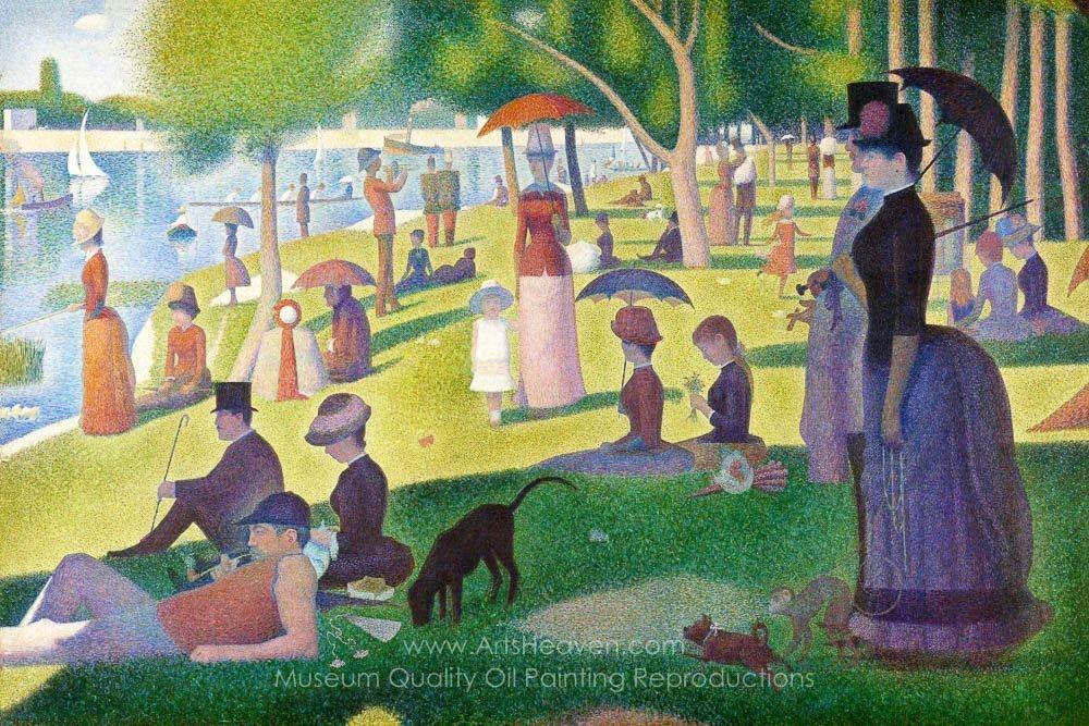 Georges Seurat Sunday Afternoon on the Island of La Grande Jatte