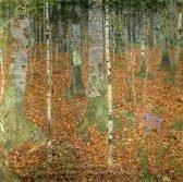 gustav-klimt-birch-wood