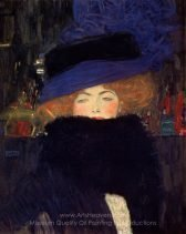 gustav-klimt-lady-with-hat-and-feather-boa