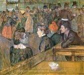 Henri De Toulouse-Lautrec At the Moulin de la Galette