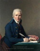Jacques-Louis David Portrait of Jacobus Blauw
