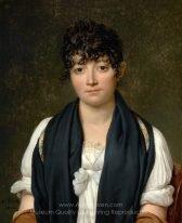Jacques-Louis David Portrait of Suzanne Le Peletier de Saint-Fargeau