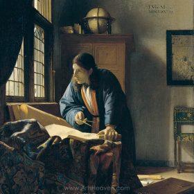 Jan Vermeer The Geographer