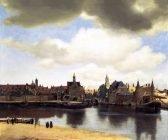 Jan Vermeer View of Delft