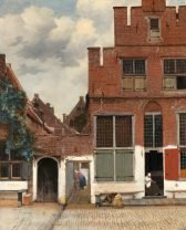 Jan Vermeer View of Houses in Delft
