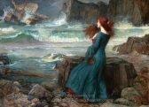 John William Waterhouse Miranda, The Tempest