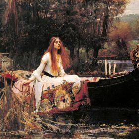 John William Waterhouse The Lady of Shalott