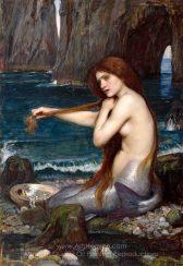 John William Waterhouse The Mermaid