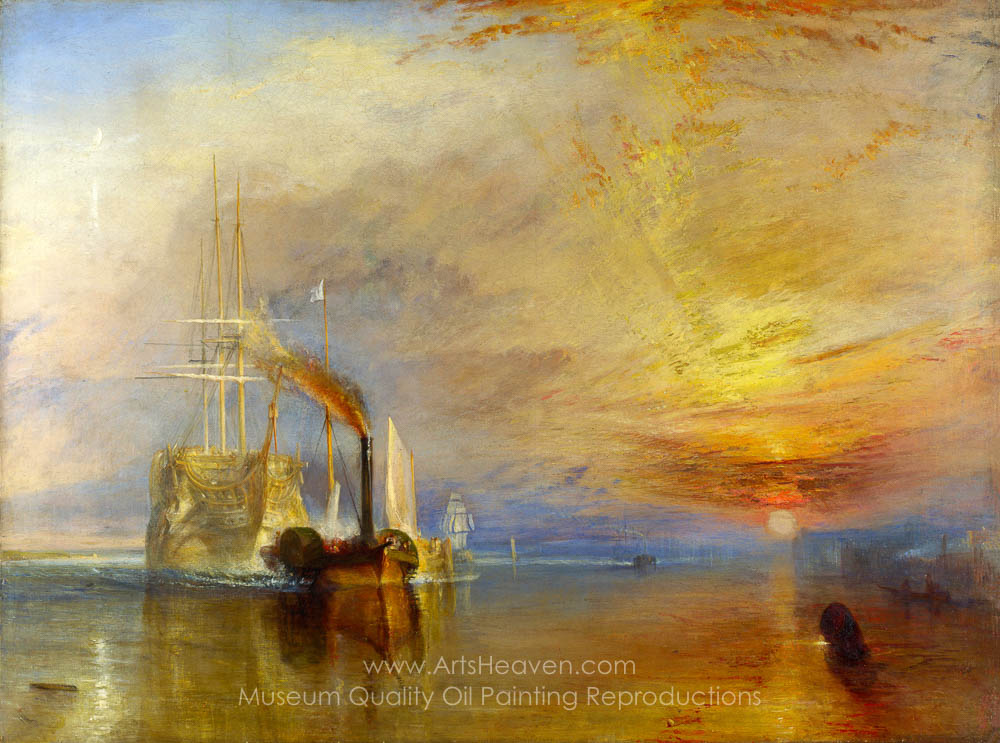 Joseph M.W. Turner The Fighting Temeraire