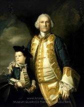 Sir Joshua Reynolds Admiral Francis Holbourne and His Son, Sir Francis, 4th Baronet