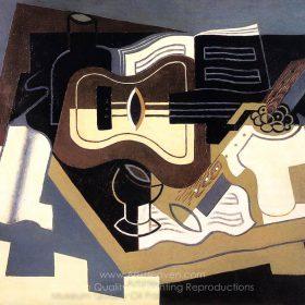 Juan Gris Guitar with Clarinet