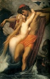 Lord Frederic Leighton The Fisherman and the Syren