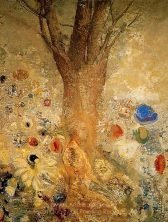 Odilon Redon Buddah in His Youth