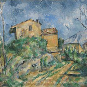 Paul Cézanne Maison Maria, View of Chateau Noir