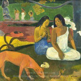 Paul Gauguin Arearea Happiness