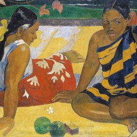 Paul Gauguin Parau Api. What News