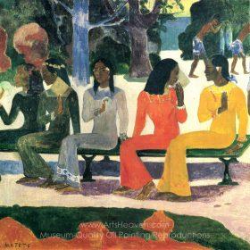 Paul Gauguin The Market