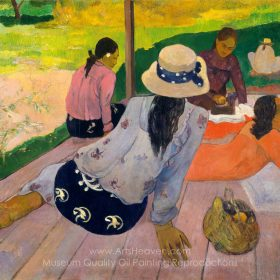Paul Gauguin The Siesta
