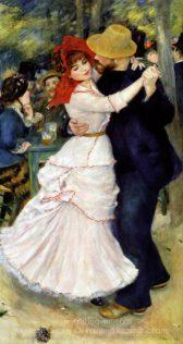Pierre-Auguste Renoir Dance at Bougival