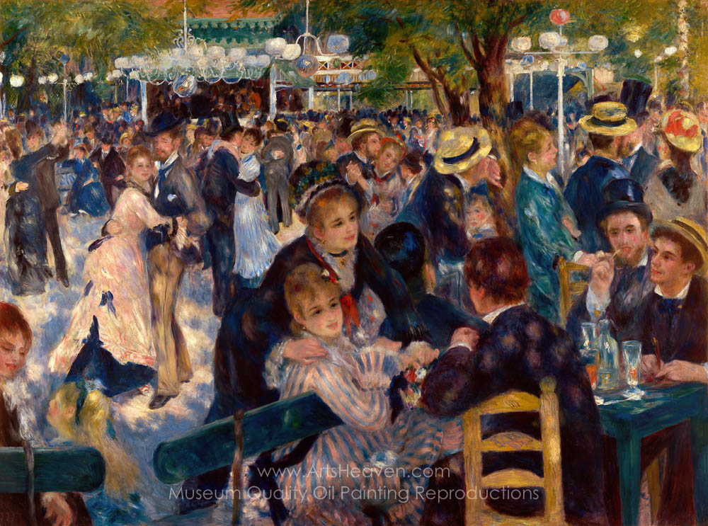 Fine Art Print Dance in the Country Auguste Renoir Reproductions