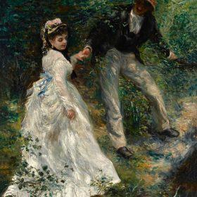 Pierre-Auguste Renoir La Promenade (The Walk)