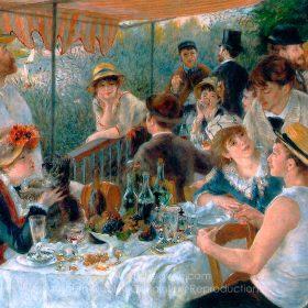 Pierre-Auguste Renoir Luncheon of the Boating Party