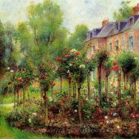 Pierre-Auguste Renoir The Rose Garden at Wargemont