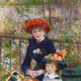 Pierre Auguste Renoir Two Sisters on the Terrace