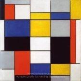Piet Mondrian Composition A