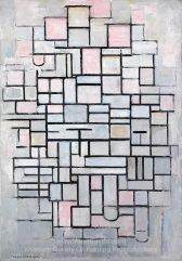 Composition No.IV, by Piet Mondriaan